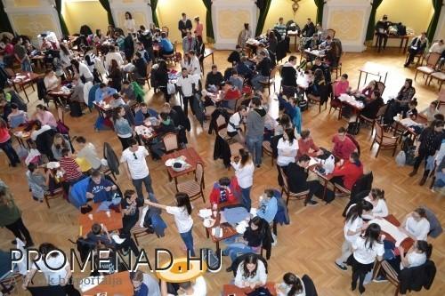 Közel 150 iskolás vetélkedett a Fekete Sasban