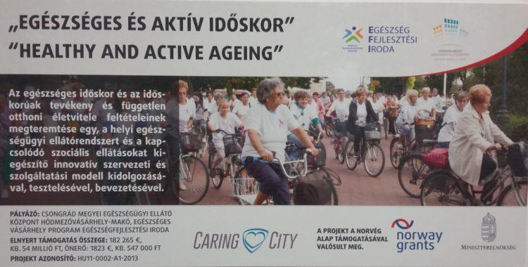 Egészséges és aktív időskor Hódmezővásárhelyen