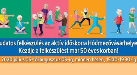 Tudatos felkészülés az aktív időskorra
