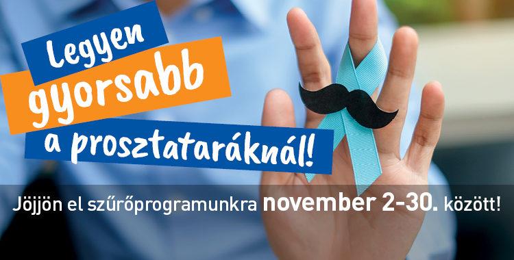 Prosztata program Hódmezővásárhely és Makó